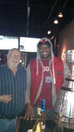 Jack Astor's: Tony Washington & Grey Cup