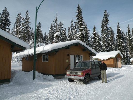 Manning Park Resort: Our cabin at Manning Park Lodge