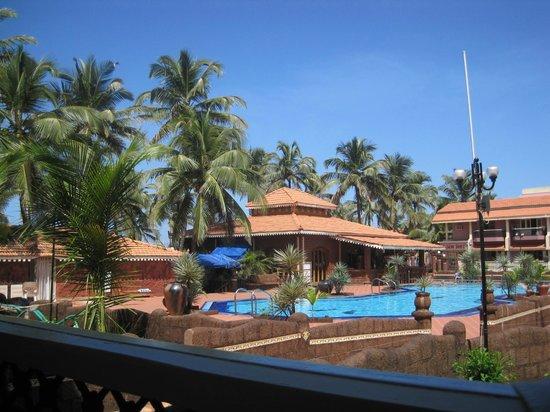 Hotel Goan Heritage:                   balcony view