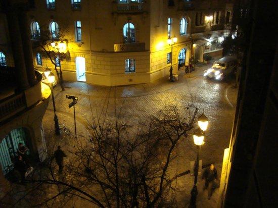 Hotel Paris Londres:                   Sacada