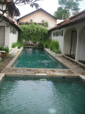 Villa Kresna Boutique Villas: Villa pool