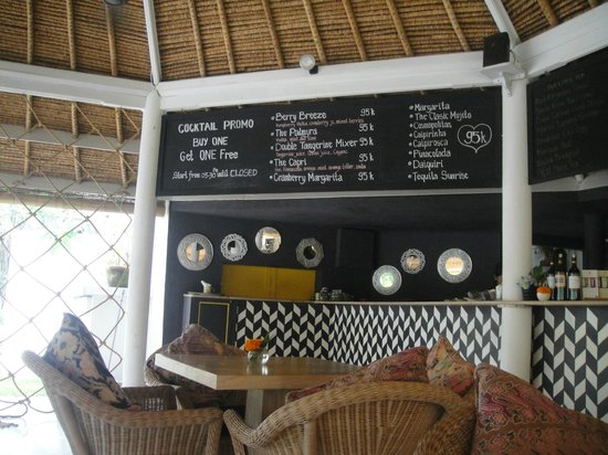 Villa Kresna Boutique Villas: Art Cafe - good food, and cheap!