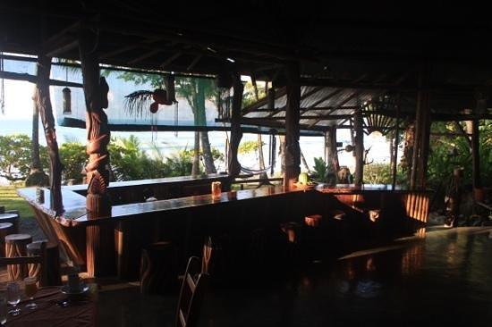 La Leona Eco Lodge: Die Bar. Endlich wieder kalte Drinks!!!