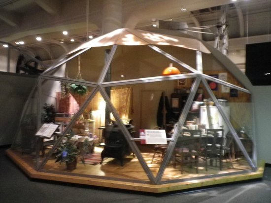The Henry Ford: Geodesic cottage