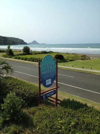 Ocean View Motel, Ohope Beach, view from unit 3