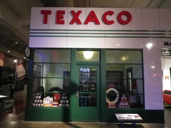The Henry Ford : replica of a Texaco service station