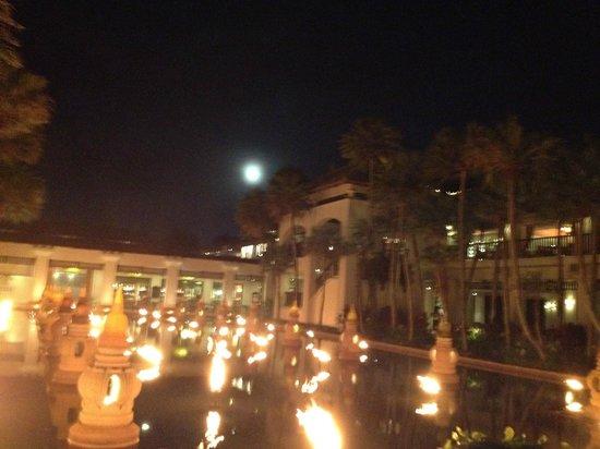 JW Marriott Phuket Resort & Spa:                   Evening lights