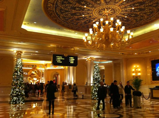 The Venetian Macao Resort Hotel: Lobby
