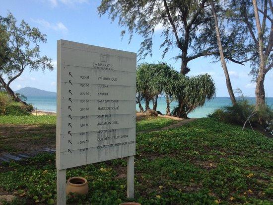JW Marriott Phuket Resort & Spa :                   Sitemap