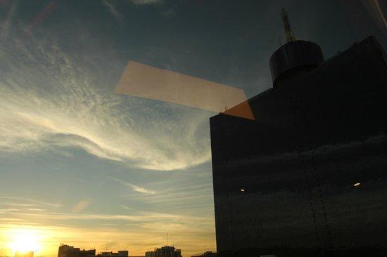 Crowne Plaza Hotel de Mexico: La vista desde nuestra habitación