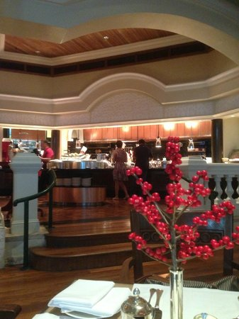 Grand Hyatt Erawan Bangkok:                   breakfast was great'