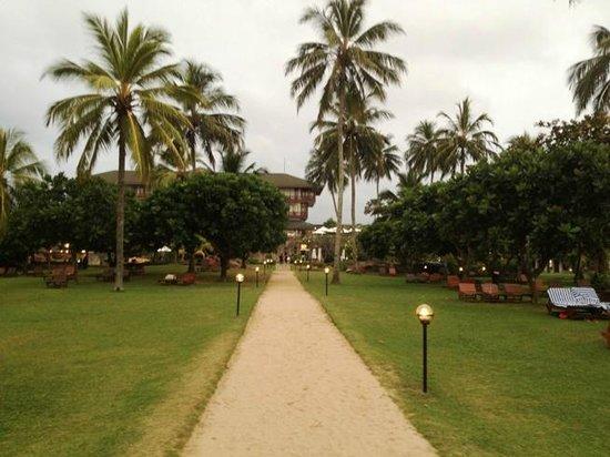 Bentota Beach by Cinnamon: Hotel garden