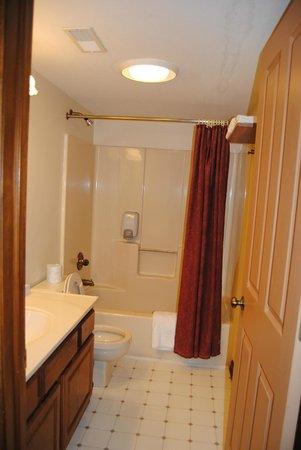 Hotel Nashville:                   Full Guest Bath