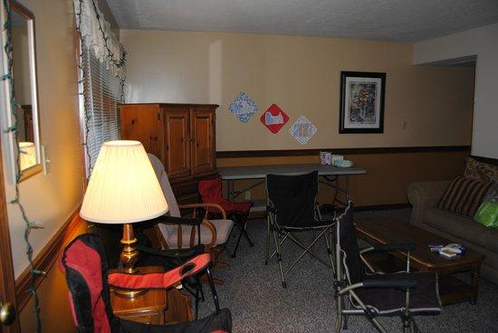 Hotel Nashville :                   Living room
