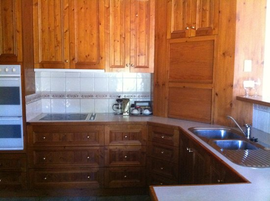 The Birches Luxury Spa Chalets:                   Kitchen