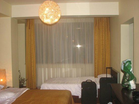 Hotel Anna: The room