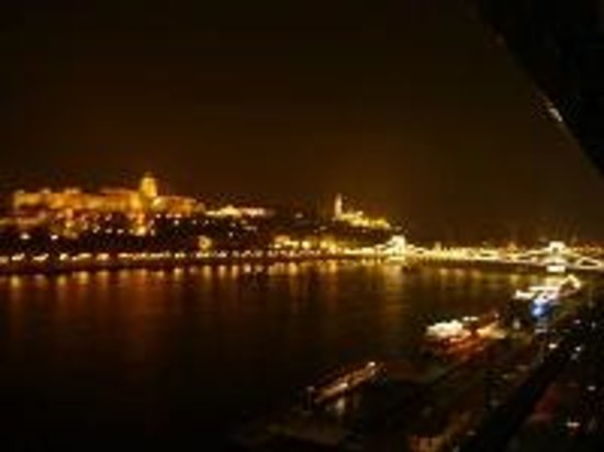 Budapest Marriott Hotel: バルコニーからの眺め