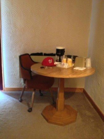"Alpine Valley Resort: ""dinning table circa 1924"