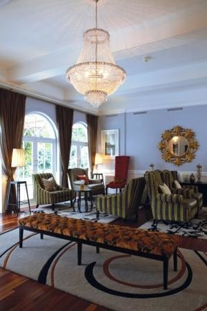 The Manor House at Fancourt : The Garden Lounge