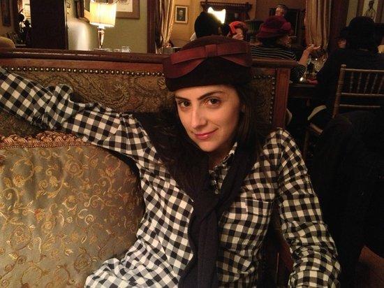 Baker House: Love the vintage hats!