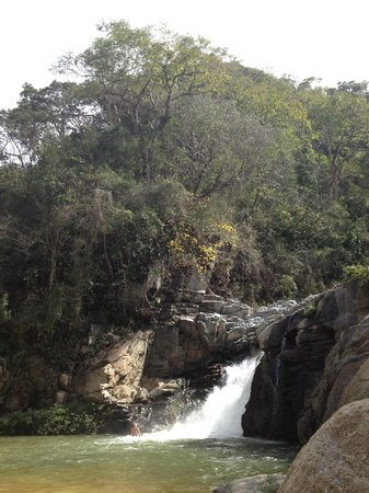El Jardin Yelapa:                   The Waterfall