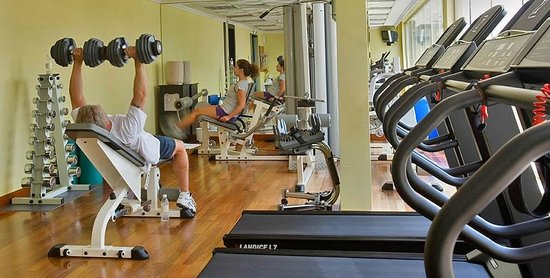 Donatello Hotel: Gym
