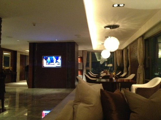 Marco Polo Wuhan:                   Continental Club Lounge