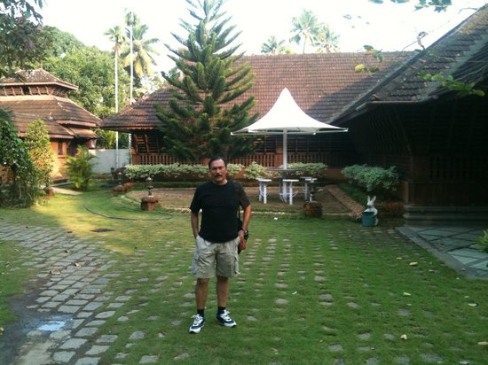 Pagoda Resorts Alleppey: In the lawns