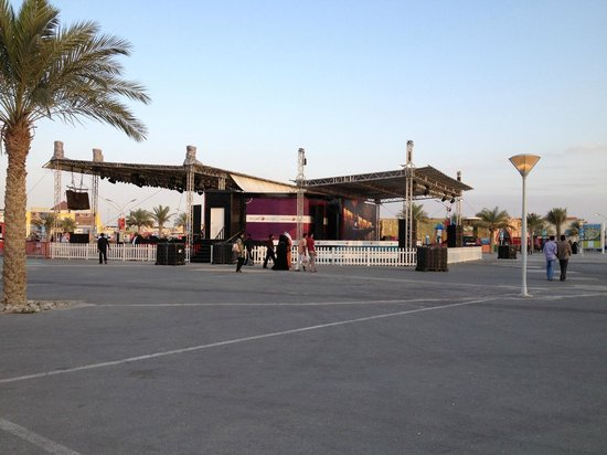 how to get to global village dubai