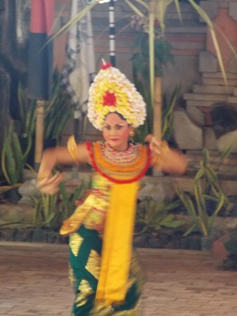 Catur Eka Budhi - Bali Dance:                   One of the Dancer