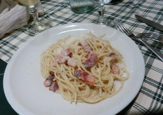 La Pilotta: Spaghetti alla Carbonara