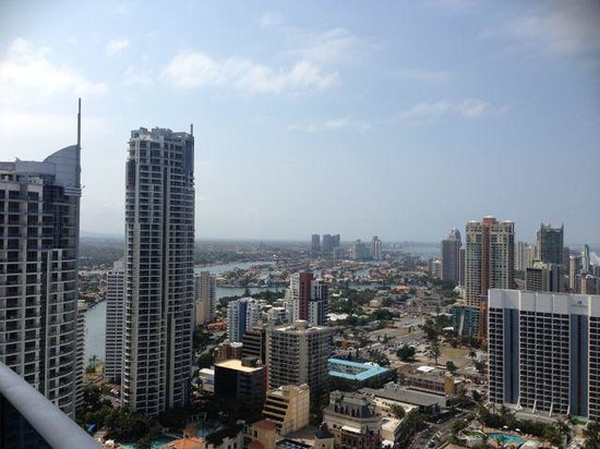 Hilton Surfers Paradise Hotel & Residences: view from our room