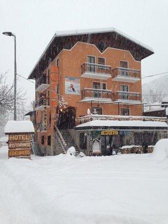 Hotel Edelweiss: 20 gennaio 2013