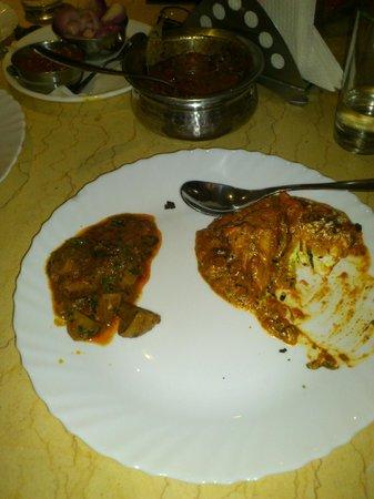 Spicy Tadka:                   Veg delight