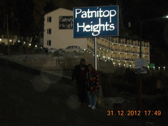 Hotel Patnitop Heights:                   PERFECT LOCATION