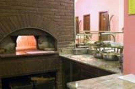 Ristorante  Da Maddalena: Il forno a legna