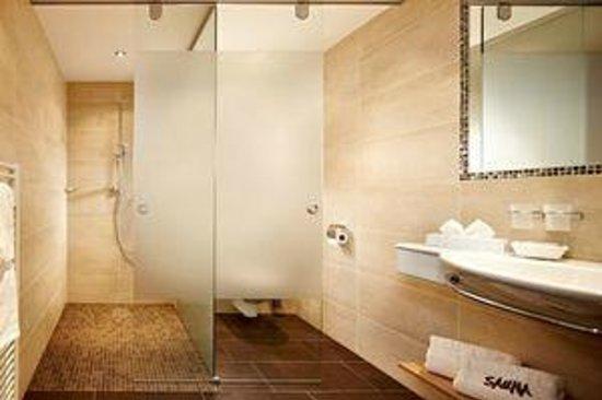 Hotel Elisabeth: Badezimmer