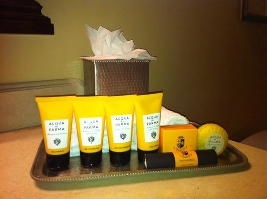Hotel Granduca Houston:                   Bathroom amenities