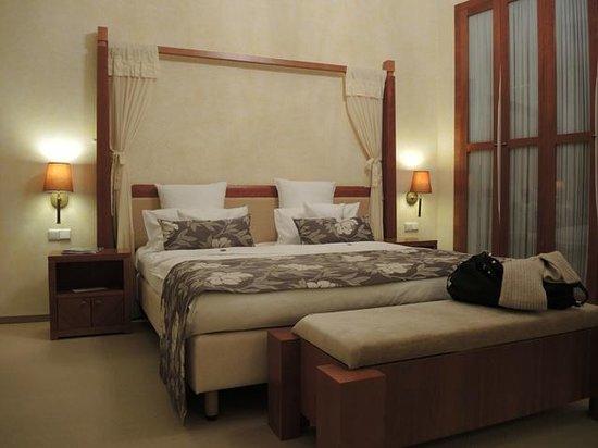 Ventana Hotel Prague: chambre