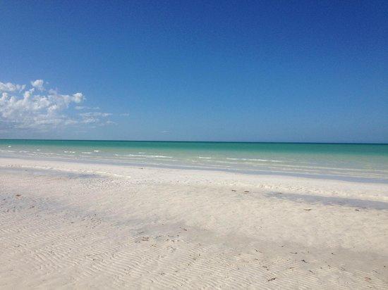 Xaloc Resort: Härlig strand utan tång!