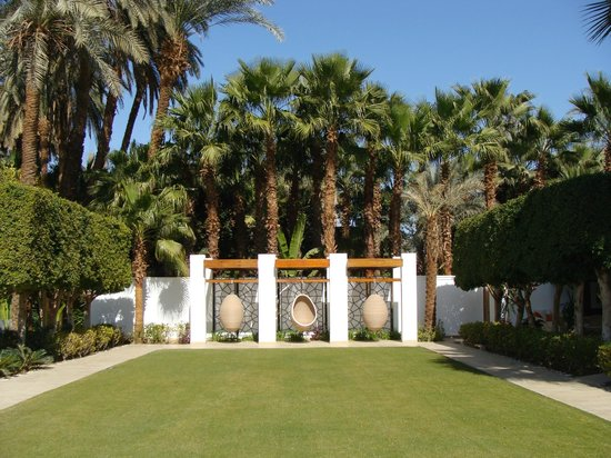 Hilton Luxor Resort & Spa: Nice grounds at Spa Pool