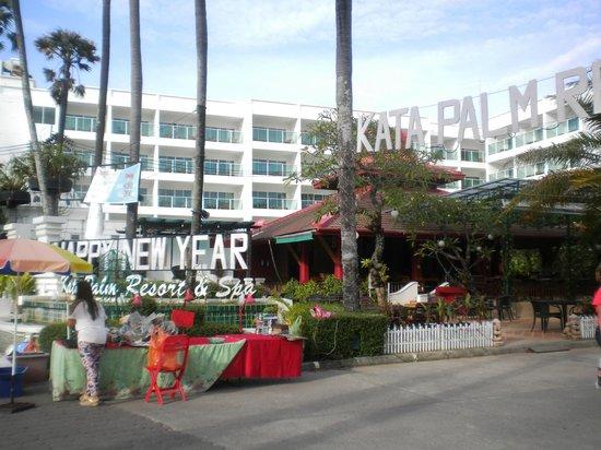Kata Palm Resort & Spa: Entrer