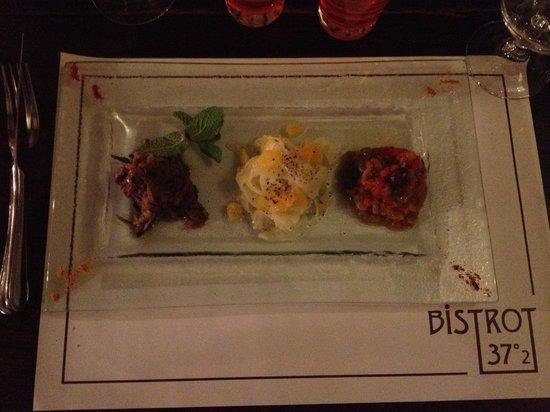 Le bistrot 37°2 : La trilogie de salade