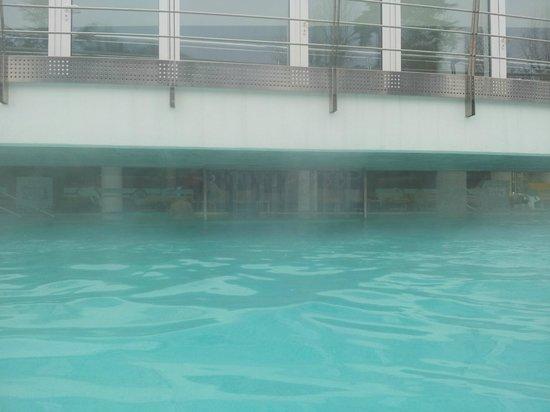 Hotel Terme Preistoriche: piscina esterna