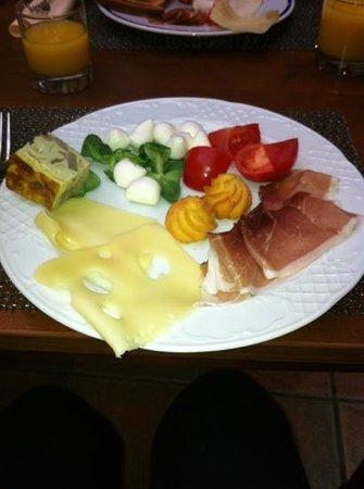 Meliá Milano:                   breakfast