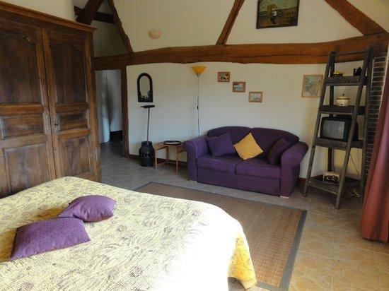 Les Chandelles Bed & Breakfast : la ferma suite familiale 4 pers
