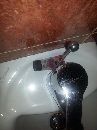 BEST WESTERN City Hotel: igiene intimo nel retro del bidet