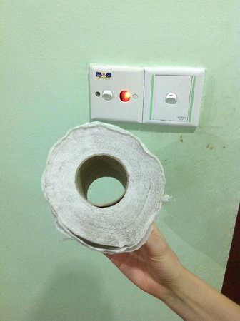 Purnama Beach Resort:                   The toilet roll