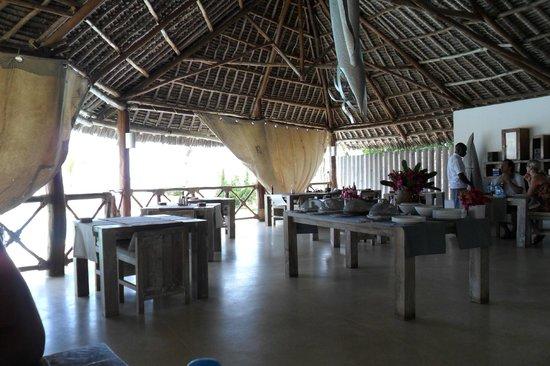Mawe Resort: sala ristorante