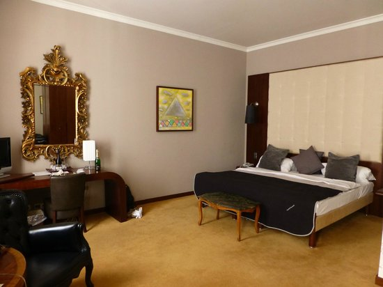 Friday Hotel Prague: Good size room (Corner suite)